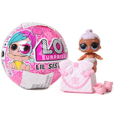 LOL bất ngờ búp bê tháo gỡ bóng 4 thế hệ chị em bé bé nhỏ vui vẻ trứng Cô Gái Mù Hộp trứng Xoắn Búp bê đồ chơi búp bê