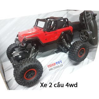 Xe jeep điều khiển từ xa rock 2 cầu 4wd – crock crawller 218