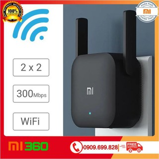 [ Hàng Cao Cấp ] Kích sóng Xiaomi Mi Wifi Repeater Pro phiên bản mới 300 Mbps