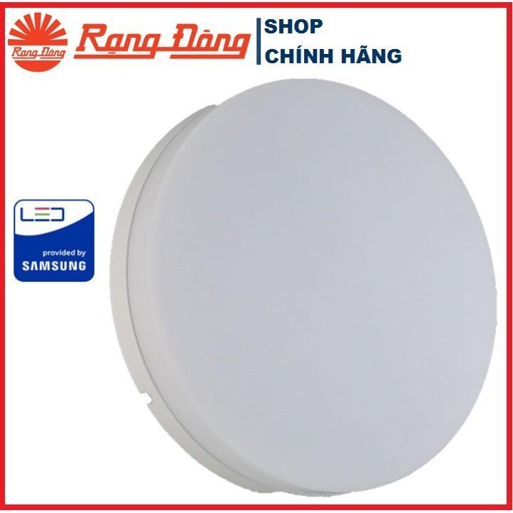 Đèn LED Ốp Trần Tràn Viền Rạng Đông D LN12L 220/18W - 6500K/3000K - Đường kính 220mm