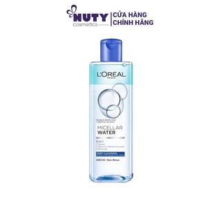 [XANH ĐẬM] Nước Tẩy Trang Làm Sạch Sâu L Oreal Micellar Water 3-in-1 Deep Cleansing (400ml) thumbnail