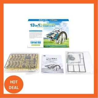 [TẠP HÓA] Bộ lắp ráp năng lượng mặt trời – Robot tương lai 13 in 1 (Educational Solar Robot Kit)(259)