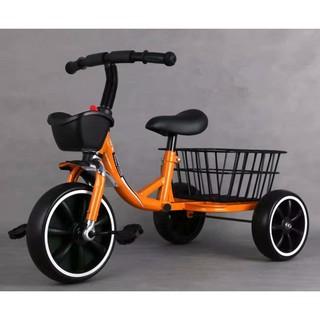 [Free Ship] Xe đạp 3 bánh, xe đạp trẻ em có giỏ đựng đồ cao cấp dành cho bé từ 1-6 tuổi thumbnail