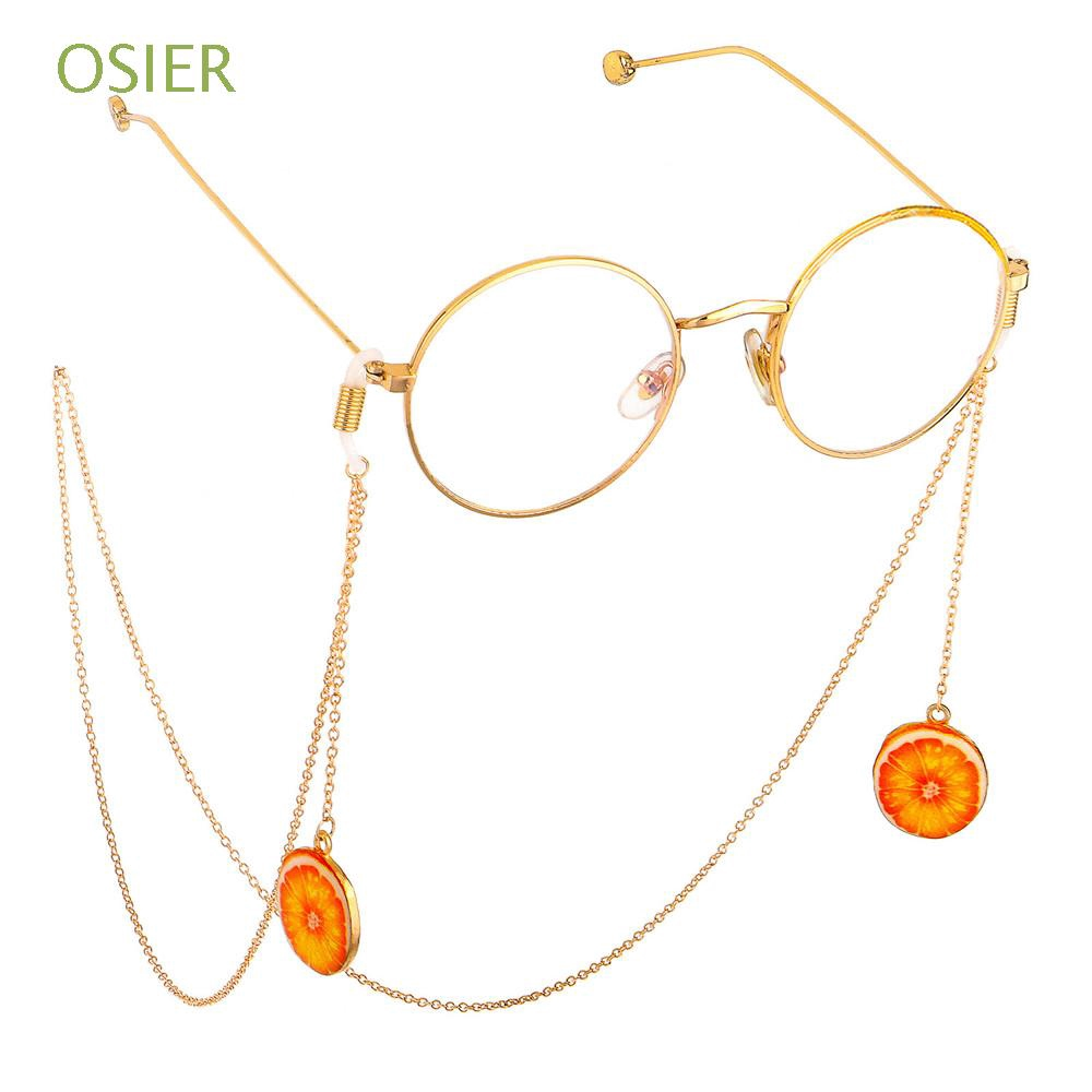 OSIER Women  Sweet Reading Glasses Pendant  Metal Glasses Chain