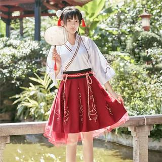 Trang phục hóa trang Hán Phục cách tân đáng yêu