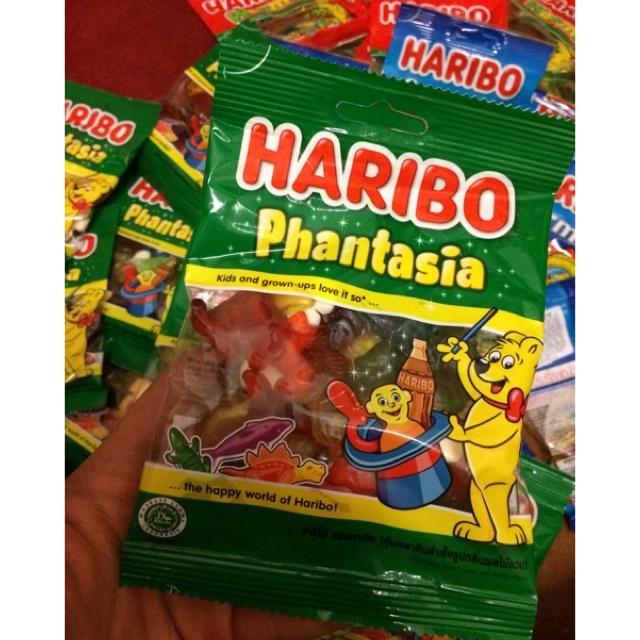 |Kẹo Dẻo Thái | Kẹo Haribo Phantasia 80g(Recipe from Germany)