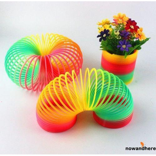 ADN-Fun Baby Rainbow Color Plastic Circle Toys
