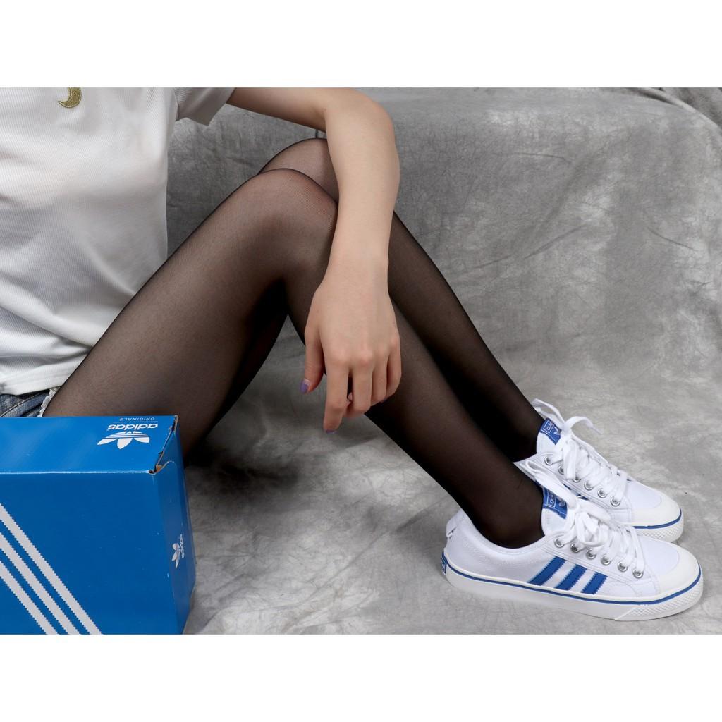 【Kuiss】Giày đế bệt Adidas Adidas NIZZA giày lười một đôi giày nam và nữ BZ0361 đôi giày lưới màu xanh trắng - 21918621 , 2499990747 , 322_2499990747 , 1376407 , KuissGiay-de-bet-Adidas-Adidas-NIZZA-giay-luoi-mot-doi-giay-nam-va-nu-BZ0361-doi-giay-luoi-mau-xanh-trang-322_2499990747 , shopee.vn , 【Kuiss】Giày đế bệt Adidas Adidas NIZZA giày lười một đôi giày na