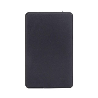 DECEBLE Slim Hard Disk Drive Enclosure USB 2.0 1.1 External SATA HDD SSD Case Portable