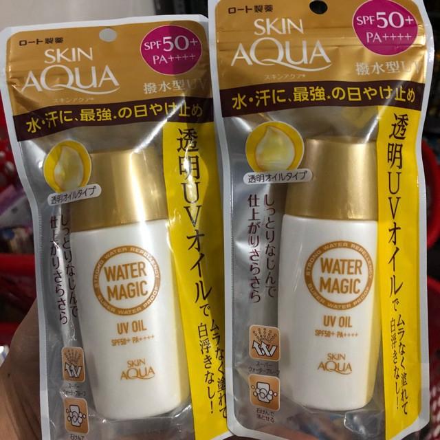 Kem chống nắng skin aqua water magic