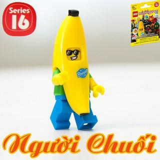 LEGO Minifigures Người Chuối Banana Suit Guy 71013 Series 16 – Nhân Vật LEGO Chính Hãng Đan Mạch