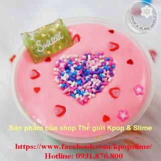 Slime Bánh dâu ngọt ngào