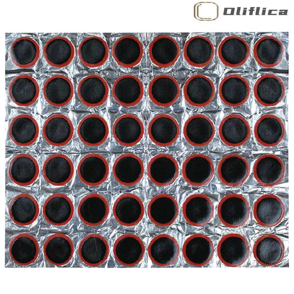 Bộ 48 Miếng Vá Lốp Xe Đạp Hình Tròn 25mm