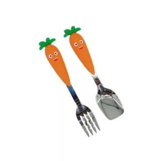 FREESHIP 99k_Set thìa dĩa cà rốt