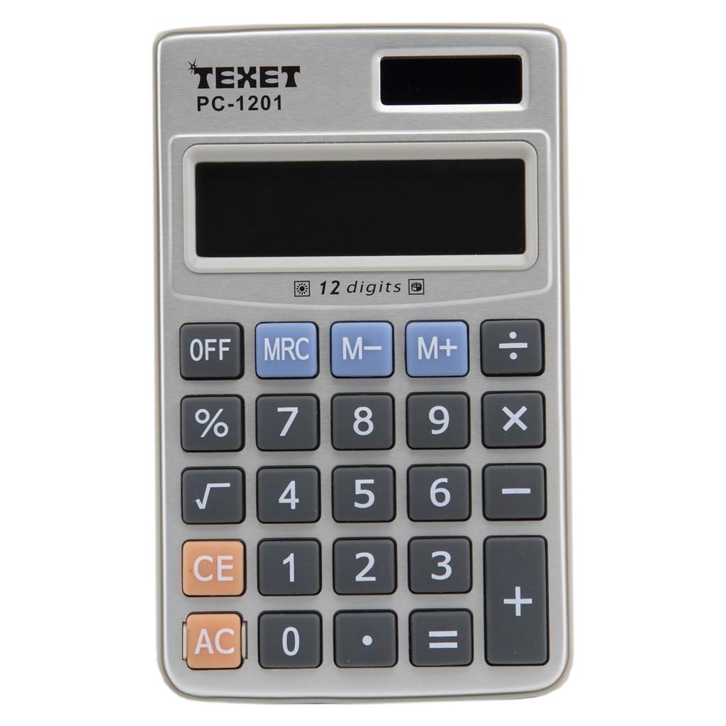 Máy tính bỏ túi Texet PC-1201 (Đen) - 2633781 , 61152329 , 322_61152329 , 70000 , May-tinh-bo-tui-Texet-PC-1201-Den-322_61152329 , shopee.vn , Máy tính bỏ túi Texet PC-1201 (Đen)