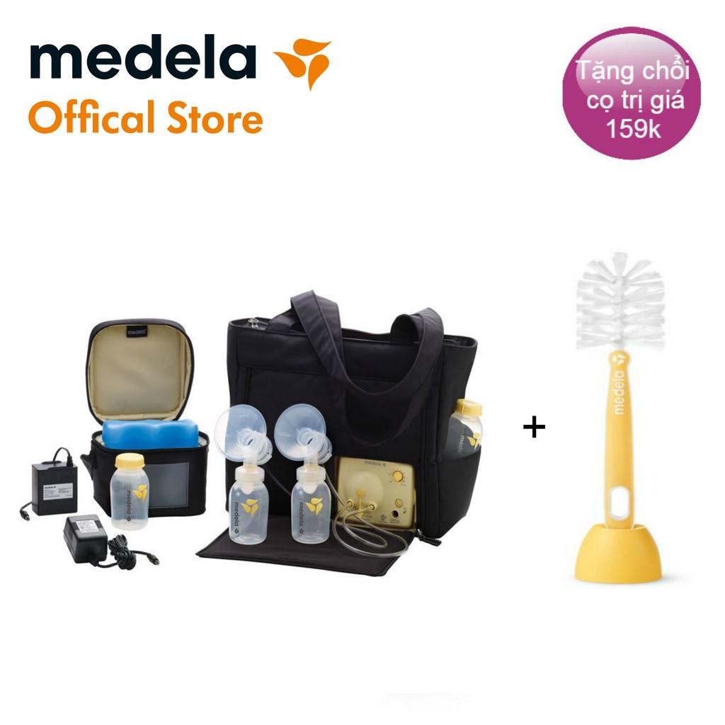 Máy hút sữa Medela Pump In Style Advanced (2019) + túi bảo quản lạnh Cooler Bag & 04 bình sữa, bảo hành 1 năm