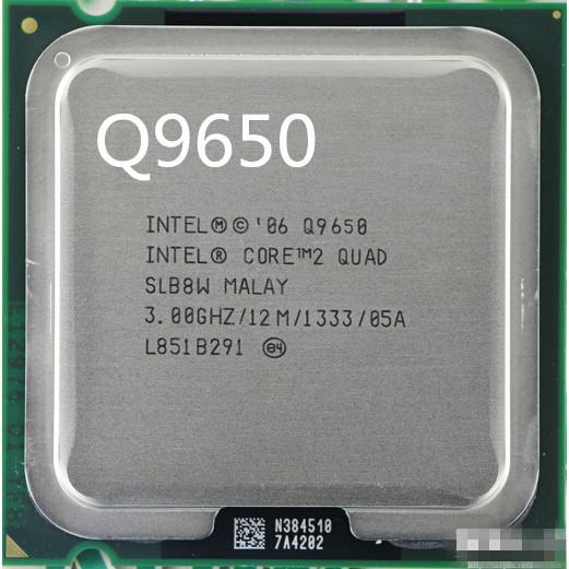 cpu Quad Core Q9650  4 nhân 4 luồng Q9550 Q9400,Q9500 tản nhiệt 8 ống đồng