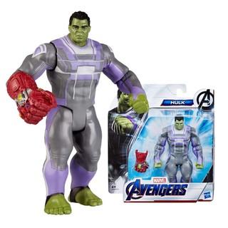 [Mã 1212TINI03 giảm 25% đơn 200k] Đồ chơi Hasbro nhân vật Hulk và găng tay vô cực dòng Deluxe 6 inch Avengers - E3940 thumbnail
