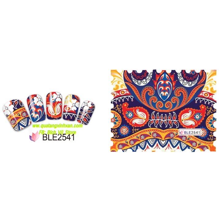 Decal dán móng nước BLE (BLE2541 -> BLE2547 - 2600027 , 151551659 , 322_151551659 , 6000 , Decal-dan-mong-nuoc-BLE-BLE2541-BLE2547-322_151551659 , shopee.vn , Decal dán móng nước BLE (BLE2541 -> BLE2547