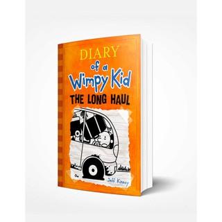 Sách Ngoại Văn Wimpy Kid 9 - The Long Haul. (Nhật Ký Chú Bé Nhút Nhát - Tập 9) thumbnail