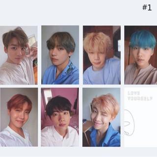 RQRSet 7 thẻ bài in hình nhóm nhạc BTS LOMO LOVE YOURSELF