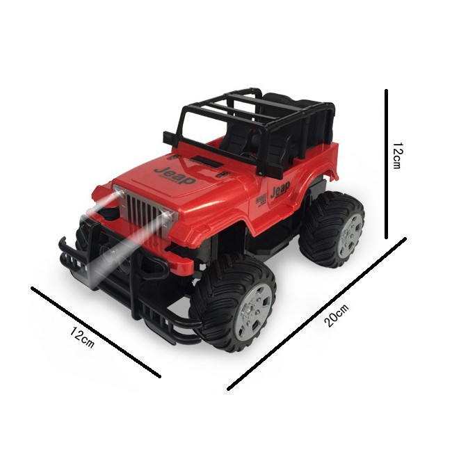 [FOLLOW SHOP 9K - 10H, 21/9 ]Xe jeep off-road leo núi điều khiển từ xa (254) cuahangtaphoa0079