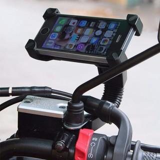 giá kẹp điện thoại trên xe máy kẹp 4 góc chắc chắn