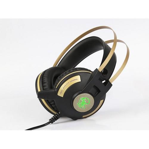 Tai nghe chụp tai chuyên Game EXAVP EX520 Led (Đen)