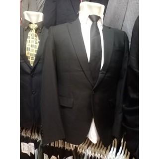 Áo khoác Blazer màu đen thời trang công sở cho nam