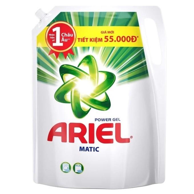 Túi Nước giặt đậm đặc Ariel Power Gel 1.4kg