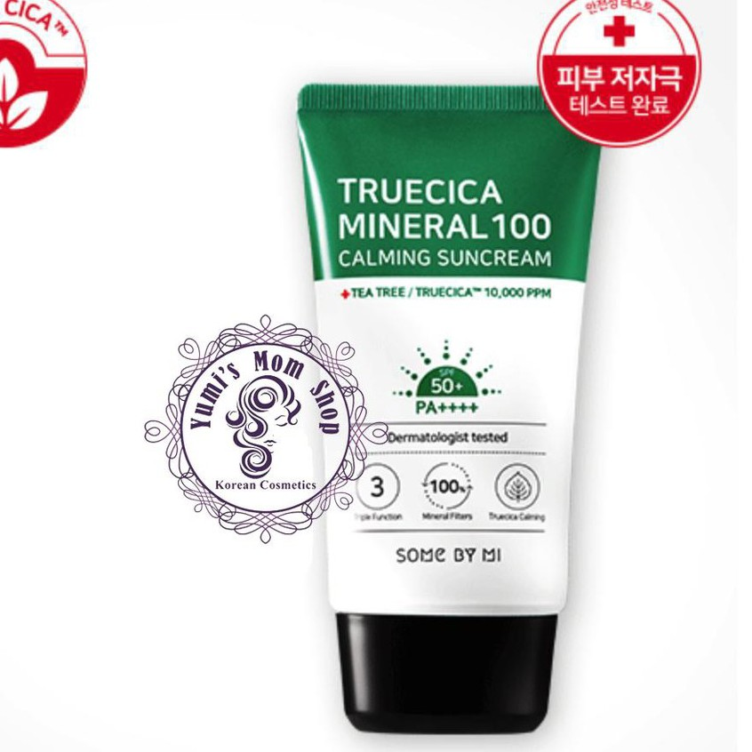 Kem Chống Nắng Some by mi Trucica Mineral 100 Calming Suncream SPF50+/PA+++