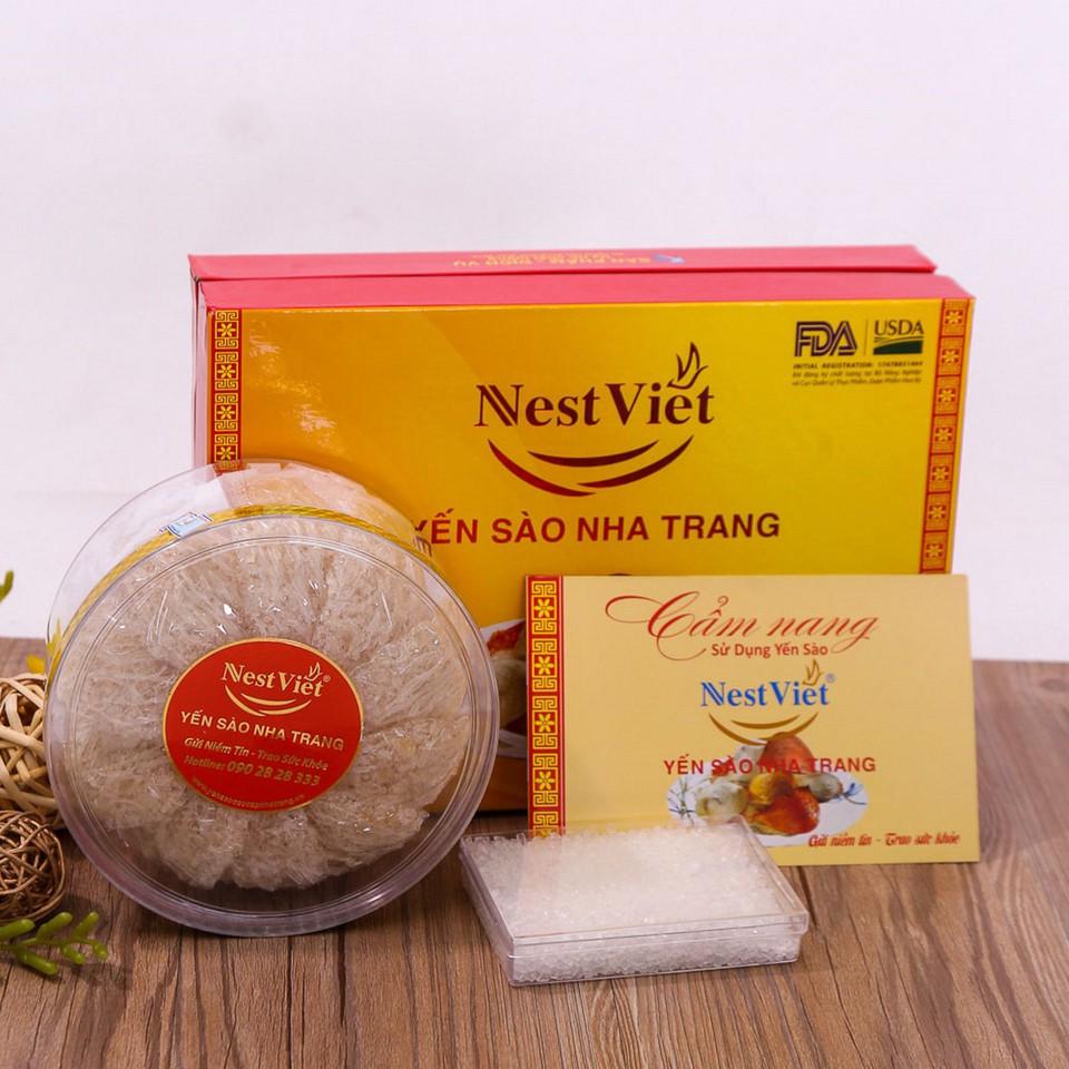 100gr Yến Sào Nha Trang Nest Việt 100% tự nhiên + Đường phèn