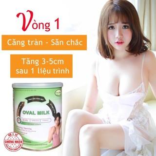 Combo 3 hộp Oval milk Tăng vòng 1 Nở ngực Săn Chắc thumbnail