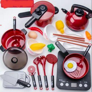 [ORDER] Bộ nồi nấu, bếp từ đủ bộ cho bé
