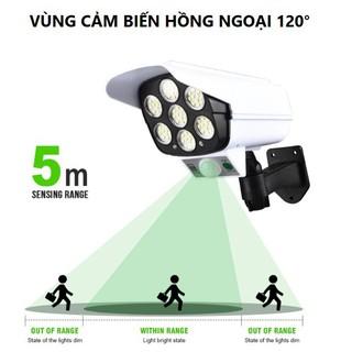Đèn năng lượng mặt trời cảm ứng tự động BẬT TẮT có điều khiển – Giả camera chống trộm – Bảo hành 3 tháng Lỗi 1 đổi 1
