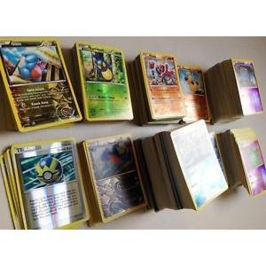 Pokemon TCG : 100 CARD LOT RARE, COMMON, UNC, HOLO & GUARANTEED EX OR FULL ART