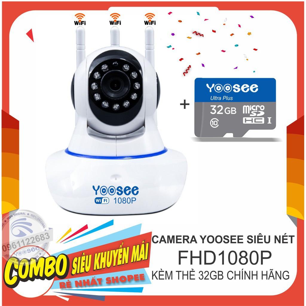 Camera IP YooSee 2.0 3râu - kèm thẻ nhớ 32G - 23037358 , 2549848805 , 322_2549848805 , 315000 , Camera-IP-YooSee-2.0-3rau-kem-the-nho-32G-322_2549848805 , shopee.vn , Camera IP YooSee 2.0 3râu - kèm thẻ nhớ 32G