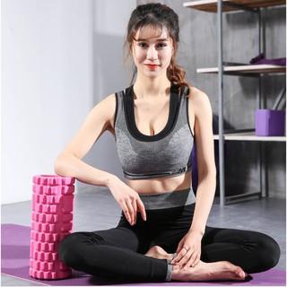 Con Lăn Foam Roller Massage, Dãn Cơ Tập Gym,Yoga Hàng Chuẩn 50mm thumbnail