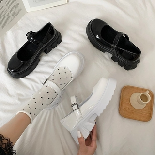 Ulzzang Casual Thick Sole Oxford Shoes