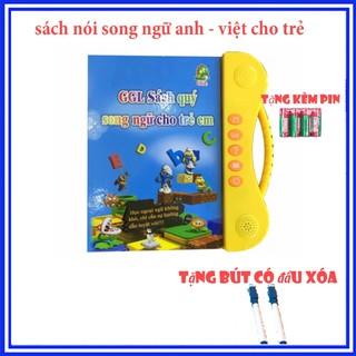 Đồ chơi Bộ sách quý điện tử Song ngữ – Trẻ vừa học vừa chơi cùng Tiếng Anh