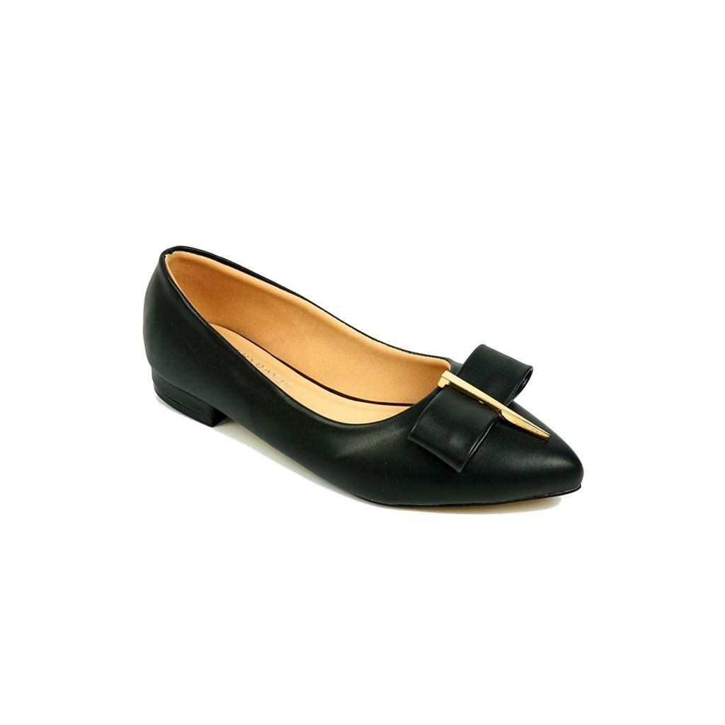 Giày búp bê nữ SUNDAY BB11 Đen, Kem, Nâu, Trắng