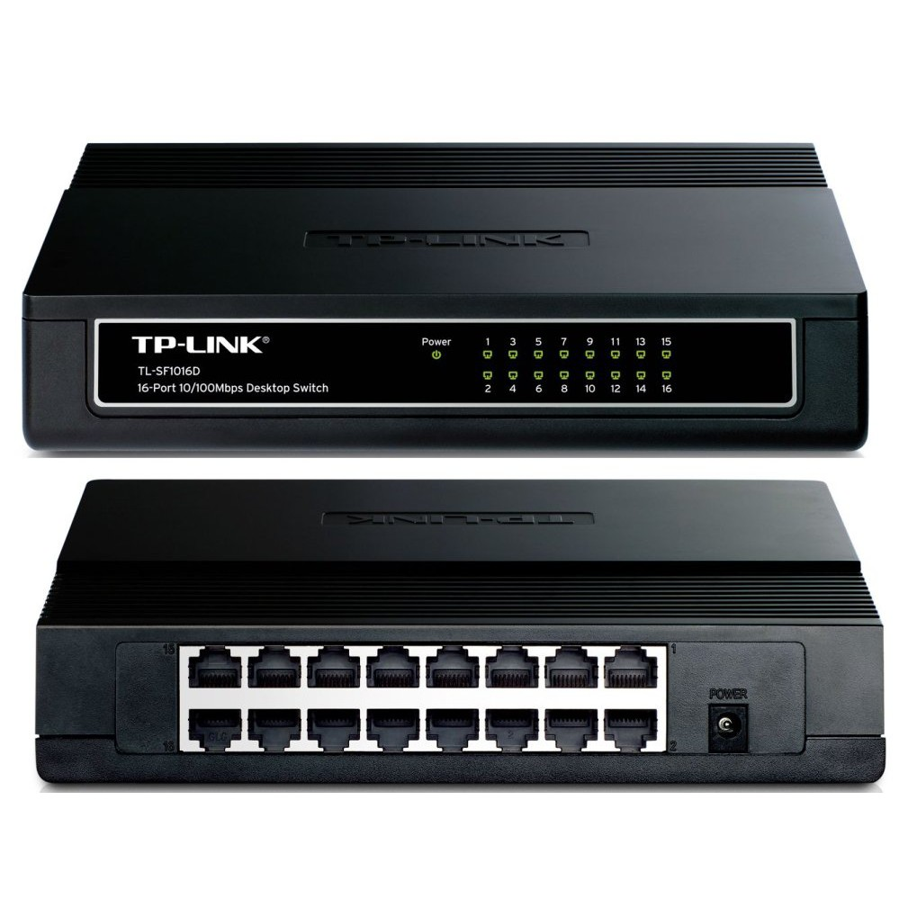 Bộ chia mạng Switch tplink SF1016D 16 cổng