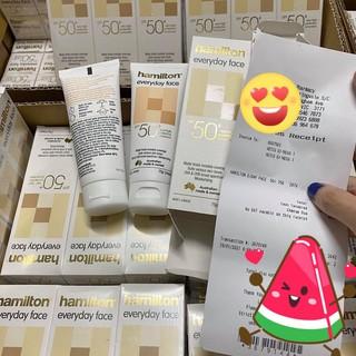 [Mã COS0404 giảm 8% đơn 300K] Kem Chống Nắng Hamilton SPF 50+ Everyday Face Cream 75g Úc