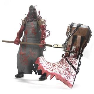 [Nhập mã TOYMOHINH giảm 10%] Mô hình có khớp NECA Executioner Majini – Resident Evil Figures/ Biohazard 4 (18cm)