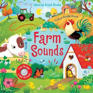 Sách âm thanh Farm Sounds Garden Sounds Jungle Sounds Night Sounds Woodland Zoo Sound