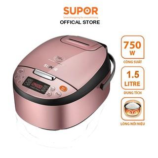 Nồi cơm điện tử lòng nồi Niêu Supor CFXB40FC33VN-75 1.5L