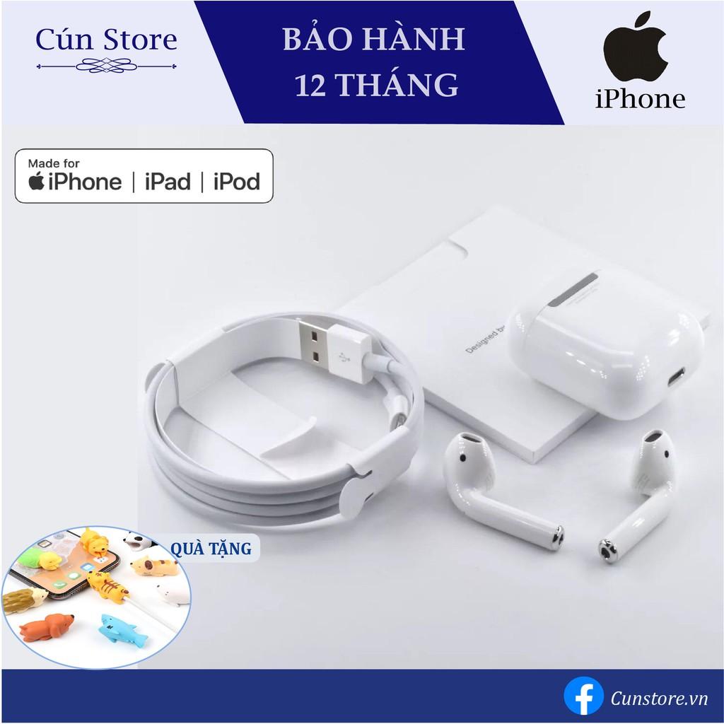 [Bảo Hành 12 tháng] Tai Nghe Bluetooth Airpods 2 Full Chức Năng Định Vị - Đổi Tên, Check Setting, Fix Pin Ảo