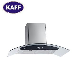 Máy hút khói khử mùi kính cong 9 tấc KAFF KF-GB906