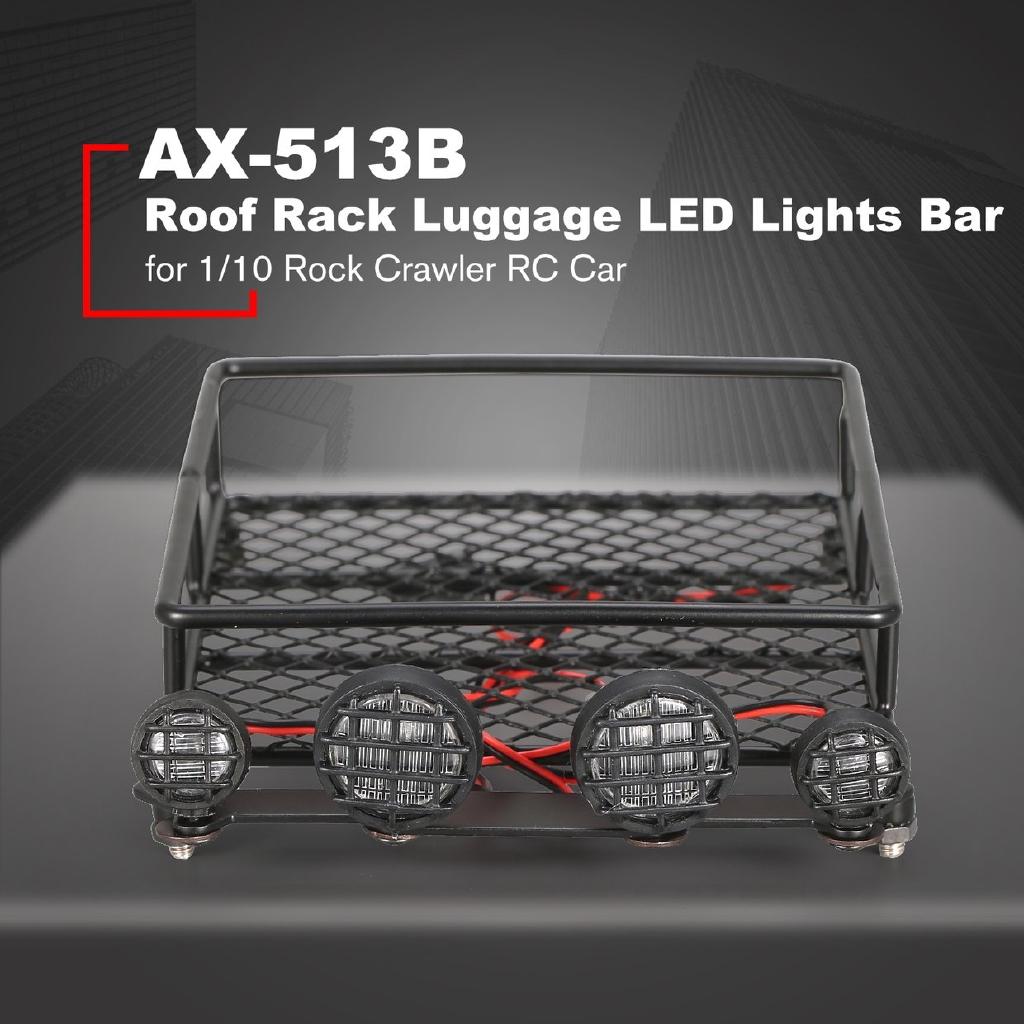 Bảng đèn LED kim loại ax-513b cho xe điều khiển từ xa 1 / 10 Rock crawler