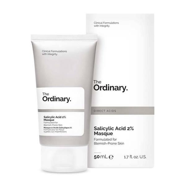 Mặt nạ than hoạt tính trị mụn The Ordinary Salicylic Acid 2pct Masque 50ml - TOSAS2M